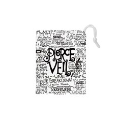 Pierce The Veil Music Band Group Fabric Art Cloth Poster Drawstring Pouches (xs)
