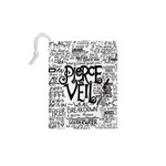 Pierce The Veil Music Band Group Fabric Art Cloth Poster Drawstring Pouches (XS)  Back