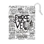 Pierce The Veil Music Band Group Fabric Art Cloth Poster Drawstring Pouches (Extra Large) Front