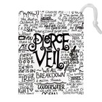 Pierce The Veil Music Band Group Fabric Art Cloth Poster Drawstring Pouches (XXL) Front
