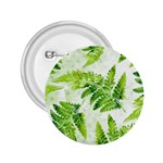 Fern Leaves 2.25  Buttons Front