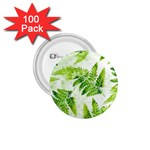 Fern Leaves 1.75  Buttons (100 pack)  Front
