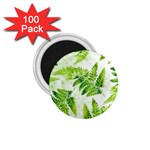 Fern Leaves 1.75  Magnets (100 pack)  Front