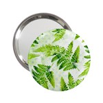 Fern Leaves 2.25  Handbag Mirrors Front
