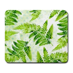 Fern Leaves Large Mousepads