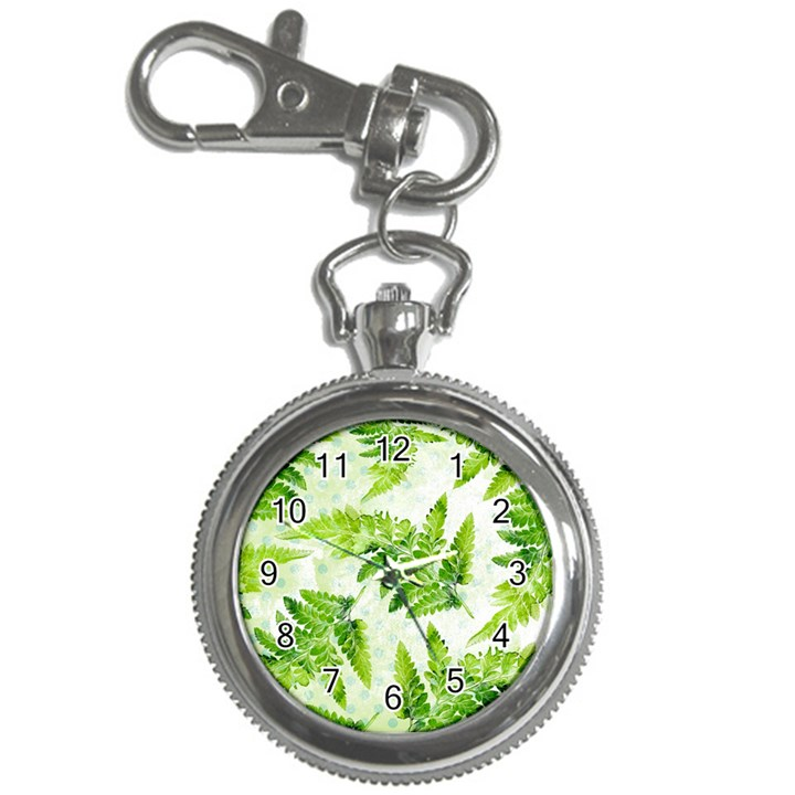 Fern Leaves Key Chain Watches