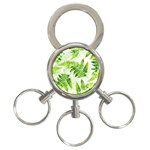 Fern Leaves 3-Ring Key Chains Front