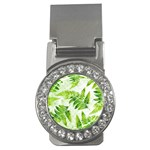 Fern Leaves Money Clips (CZ)  Front