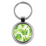 Fern Leaves Key Chains (Round)  Front
