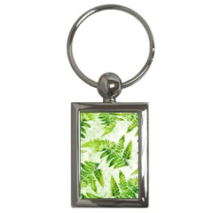 Fern Leaves Key Chains (Rectangle)