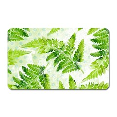 Fern Leaves Magnet (rectangular)