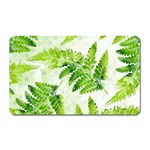 Fern Leaves Magnet (Rectangular) Front