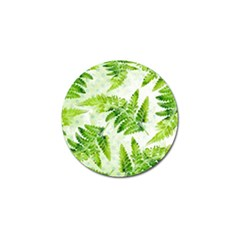 Fern Leaves Golf Ball Marker (4 pack)