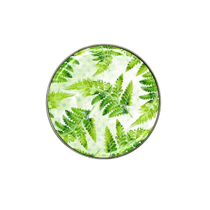 Fern Leaves Hat Clip Ball Marker (4 pack)