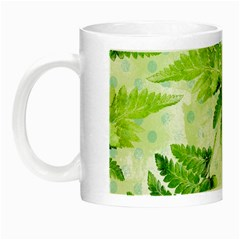 Fern Leaves Night Luminous Mugs