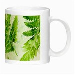 Fern Leaves Night Luminous Mugs Right