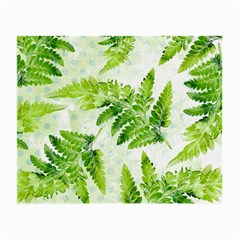 Fern Leaves Small Glasses Cloth