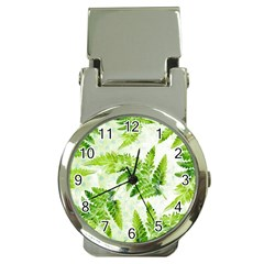 Fern Leaves Money Clip Watches