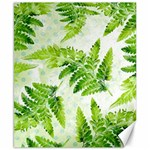 Fern Leaves Canvas 8  x 10  10.02 x8 Canvas - 1