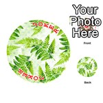 Fern Leaves Playing Cards 54 (Round)  Front - Joker2