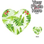 Fern Leaves Playing Cards 54 (Heart)  Front - Diamond10