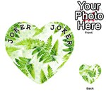 Fern Leaves Playing Cards 54 (Heart)  Front - Joker1