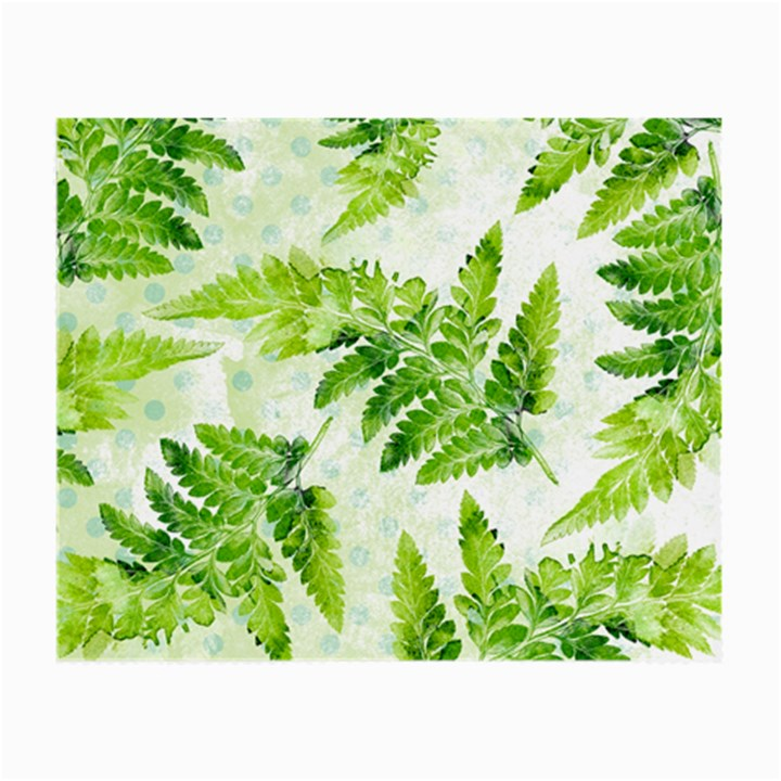 Fern Leaves Small Glasses Cloth (2-Side)
