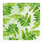 Fern Leaves Medium Glasses Cloth Front