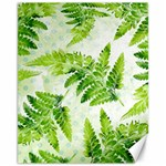 Fern Leaves Canvas 11  x 14   14 x11 Canvas - 1