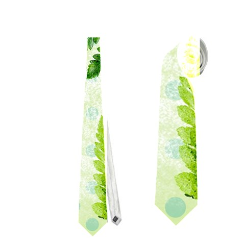 Fern Leaves Neckties (One Side)