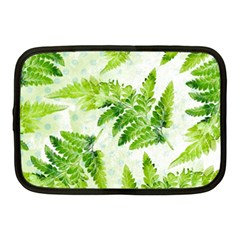Fern Leaves Netbook Case (Medium)