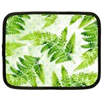 Fern Leaves Netbook Case (Large) Front