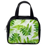 Fern Leaves Classic Handbags (One Side) Front