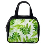 Fern Leaves Classic Handbags (2 Sides) Back