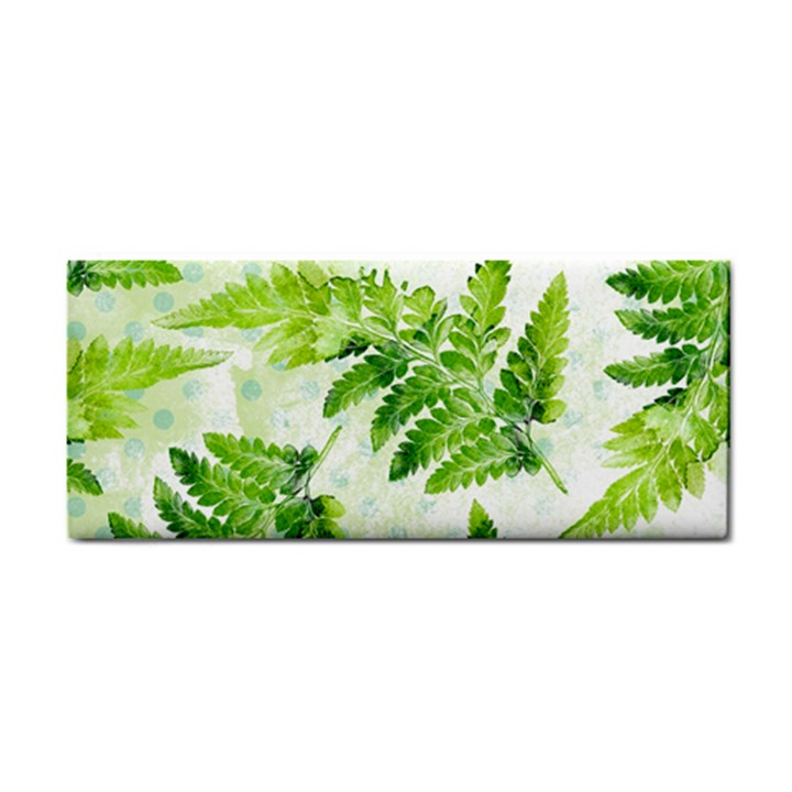 Fern Leaves Hand Towel