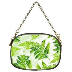 Fern Leaves Chain Purses (one Side)