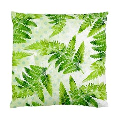 Fern Leaves Standard Cushion Case (two Sides)
