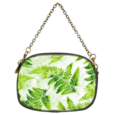 Fern Leaves Chain Purses (Two Sides)