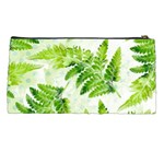 Fern Leaves Pencil Cases Back