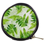 Fern Leaves Mini Makeup Bags Front