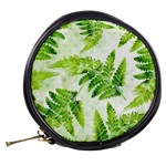 Fern Leaves Mini Makeup Bags Back