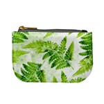 Fern Leaves Mini Coin Purses Front