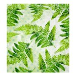 Fern Leaves Shower Curtain 66  x 72  (Large)  58.75 x64.8 Curtain