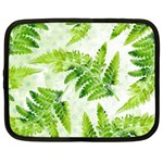 Fern Leaves Netbook Case (XL)  Front