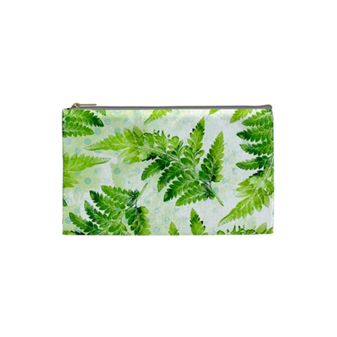 Fern Leaves Cosmetic Bag (Small)