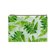 Fern Leaves Cosmetic Bag (medium)