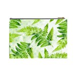 Fern Leaves Cosmetic Bag (Large)  Back