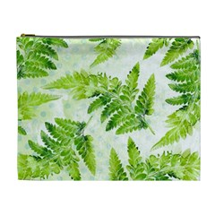 Fern Leaves Cosmetic Bag (xl)
