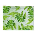 Fern Leaves Cosmetic Bag (XL) Front