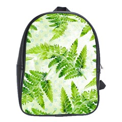 Fern Leaves School Bags(Large)
